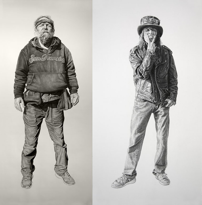 Joel Daniel Phillips - Charcoal Drawings 4215