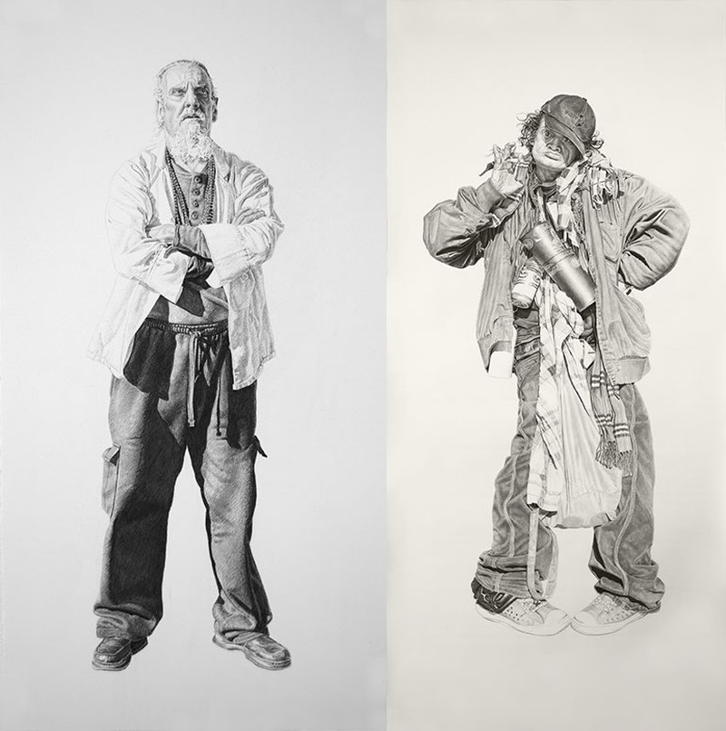 Joel Daniel Phillips - Charcoal Drawings 7444