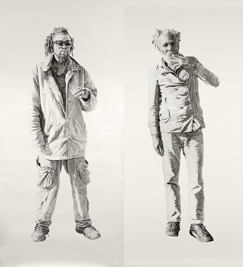 Joel Daniel Phillips - Charcoal Drawings 7842