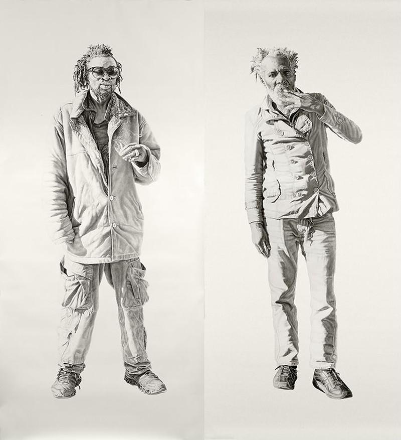 Joel Daniel Phillips - Charcoal Drawings 7842
