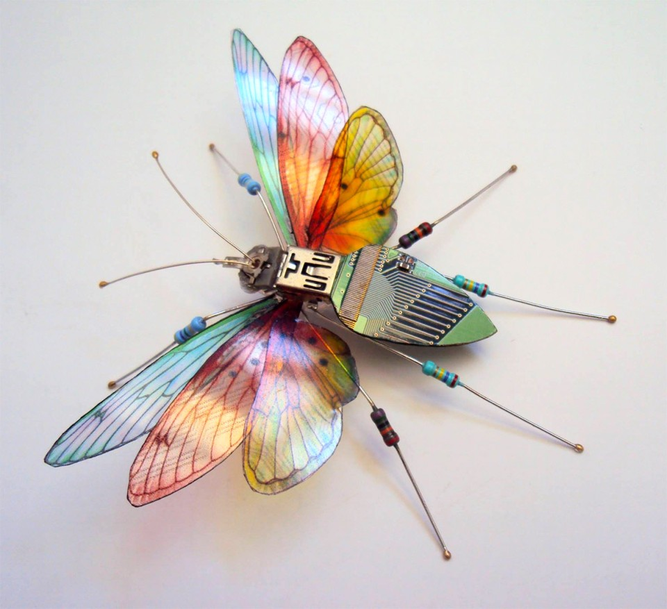 Julie Alice Chappell - insects-butterfly-sculpture-7410