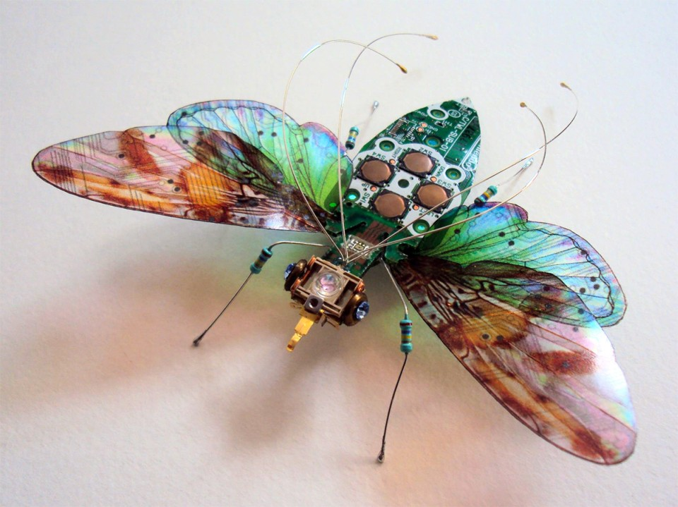 Julie Alice Chappell - insects-butterfly-sculpture-nintendo