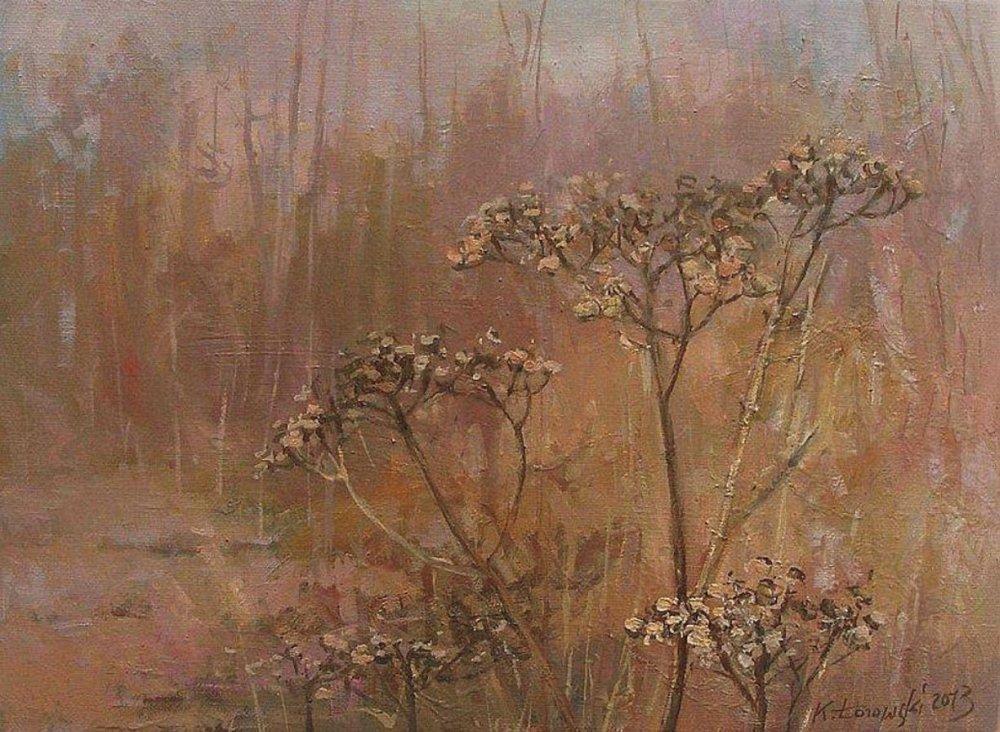 Krzysztof Łozowski-Paintings-meadow