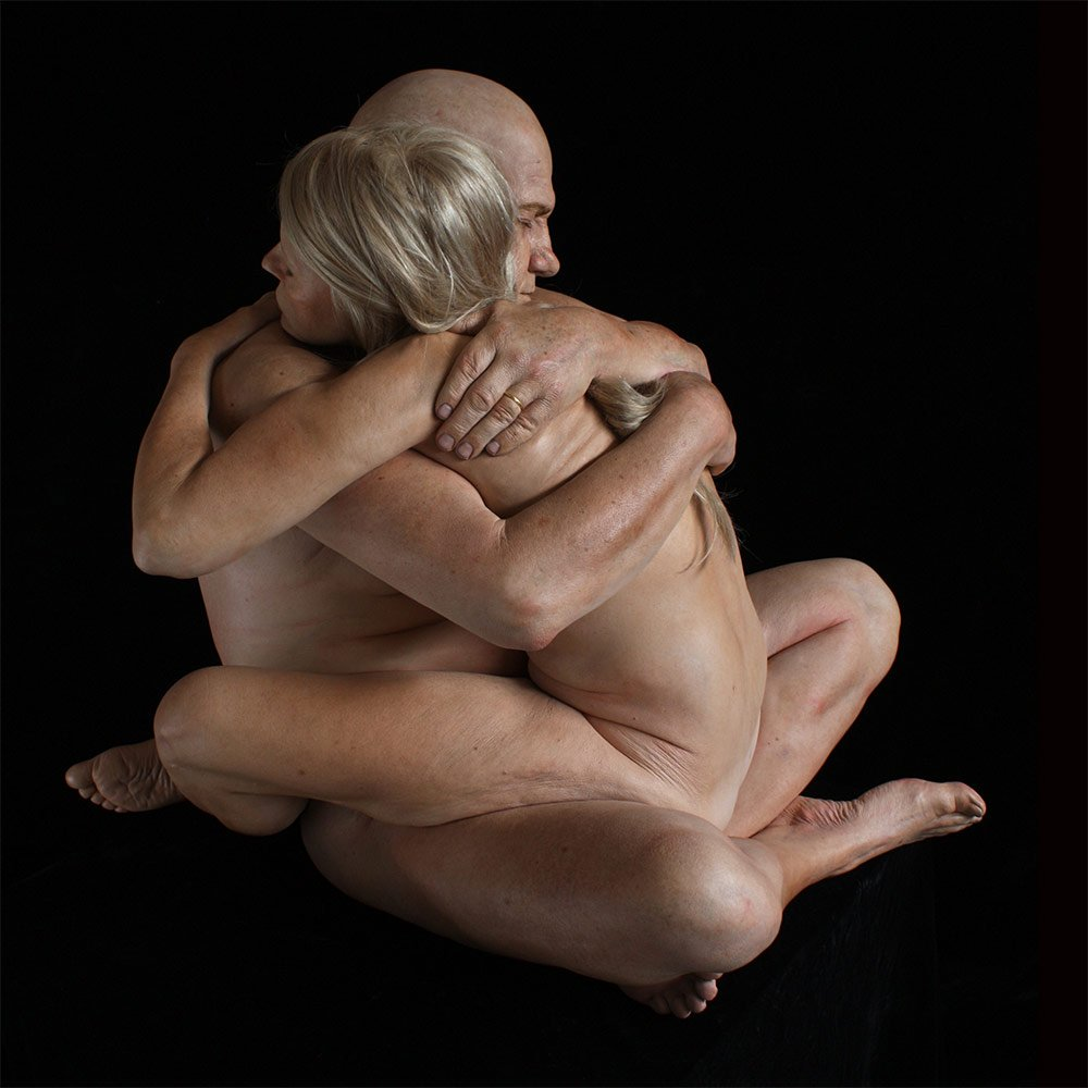 Marc Sijan Hyperrealistic Sculpture - Embrace