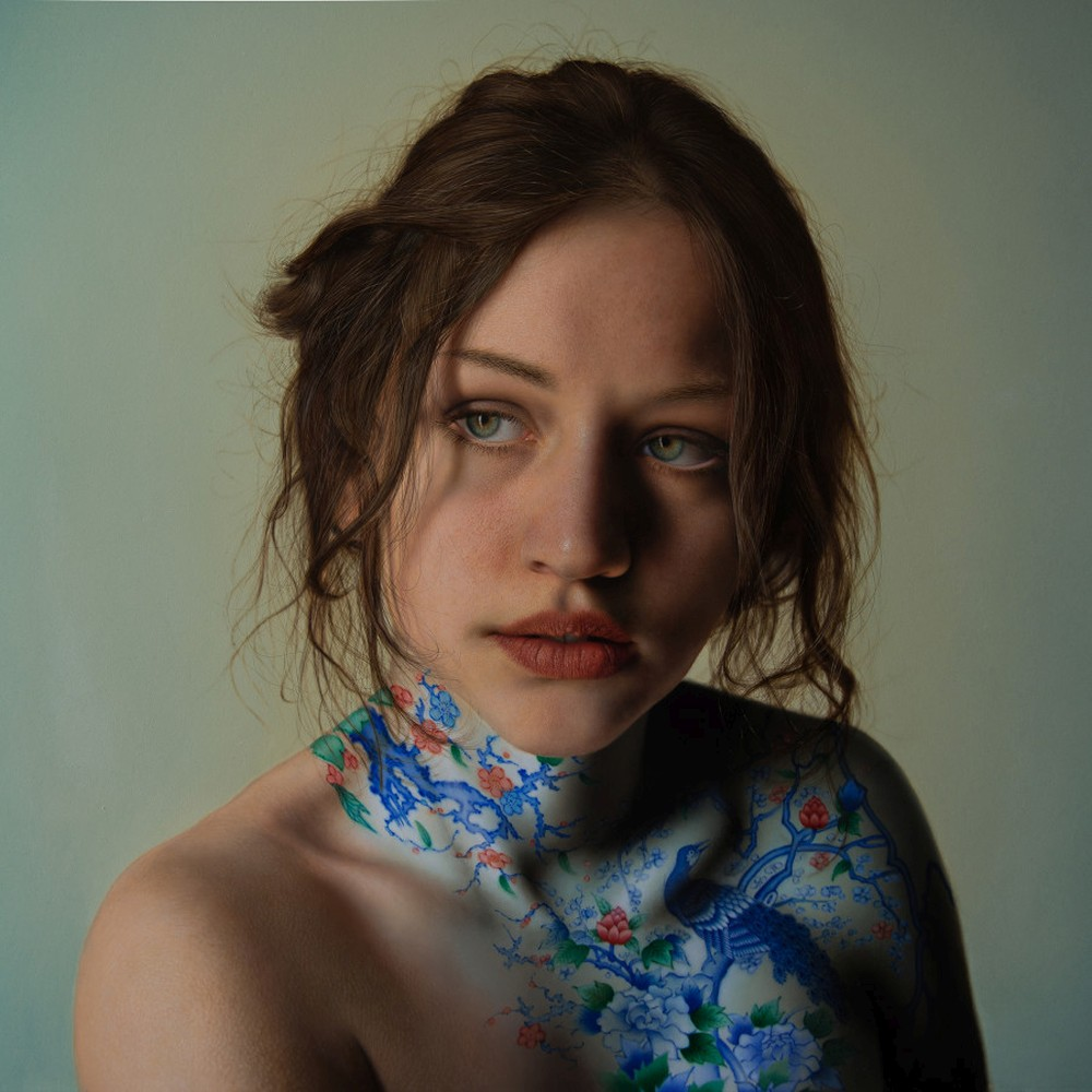 Marco Grassi Paintings Hyperreal - The Garden