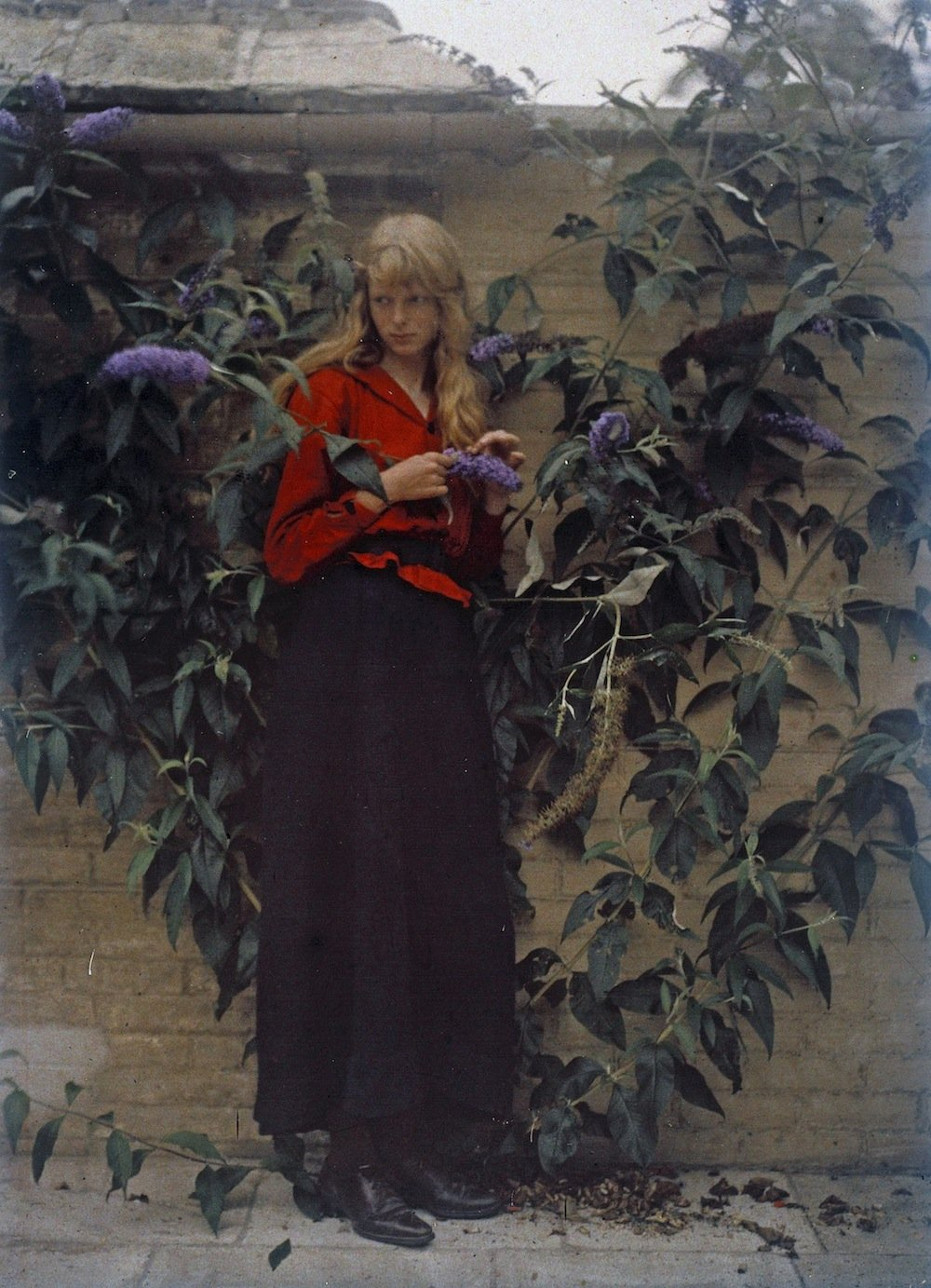 Mervyn O'Gorman AutoChrome Portraits 449