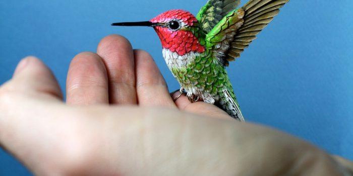Zack Mclaughlin Wood Paper Bird 4568