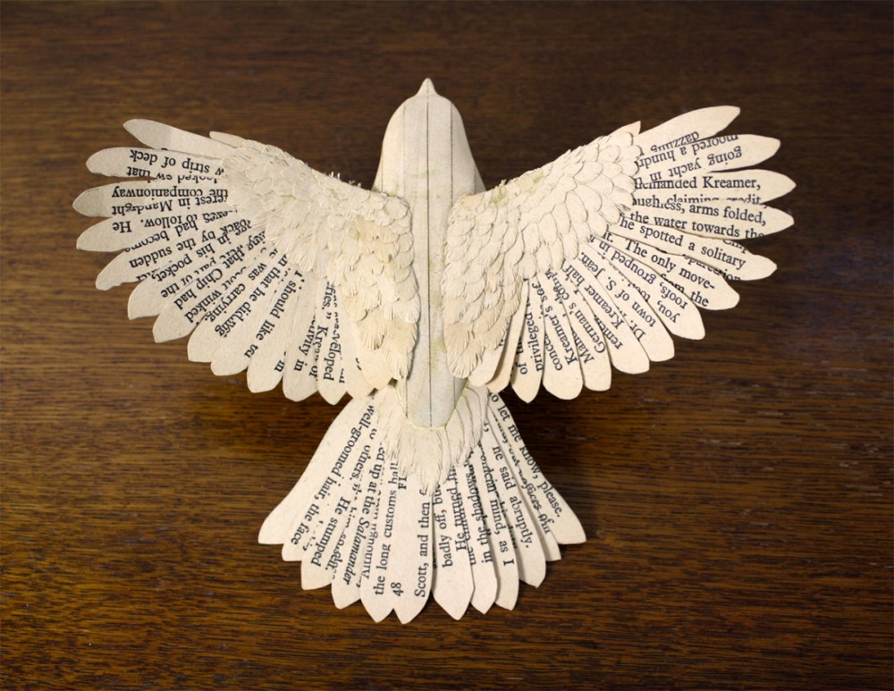 Zack Mclaughlin Wood Paper Bird 7369