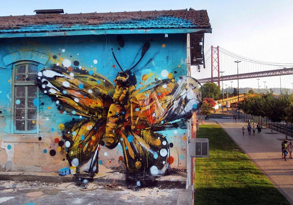 Bordalo II - Street Art - 745ljh