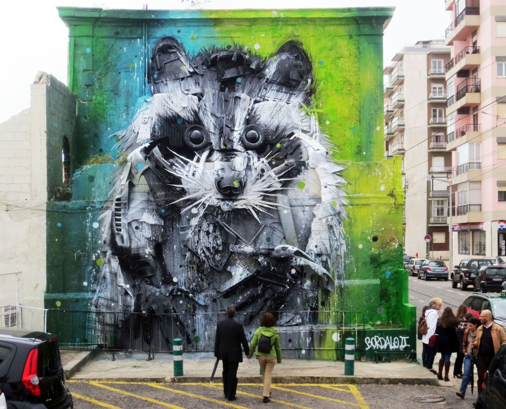 Bordalo II - Street Art - guaxinex_final