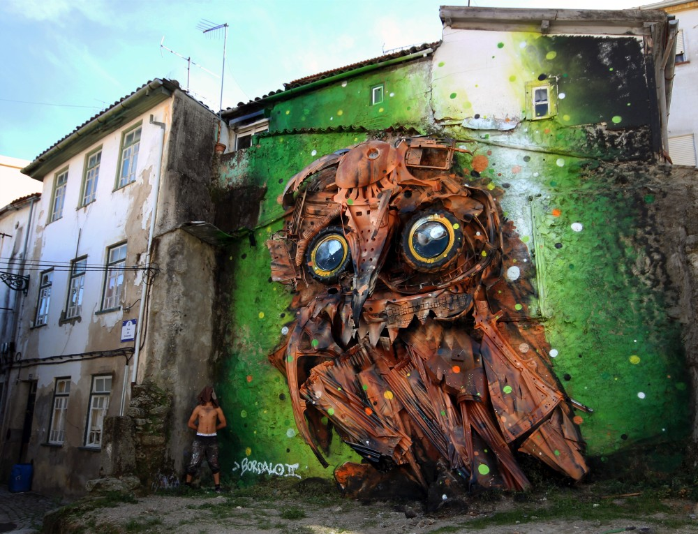 Bordalo II - Street Art - mocho final