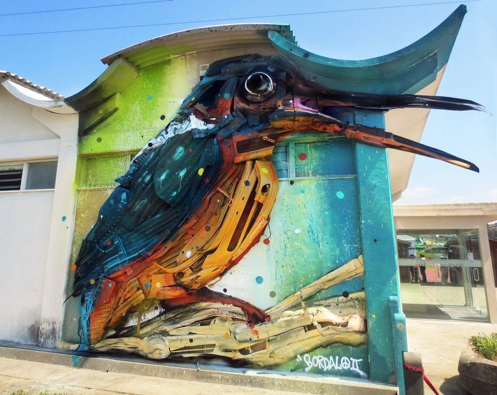 Bordalo II - Street Art - passara estarreja