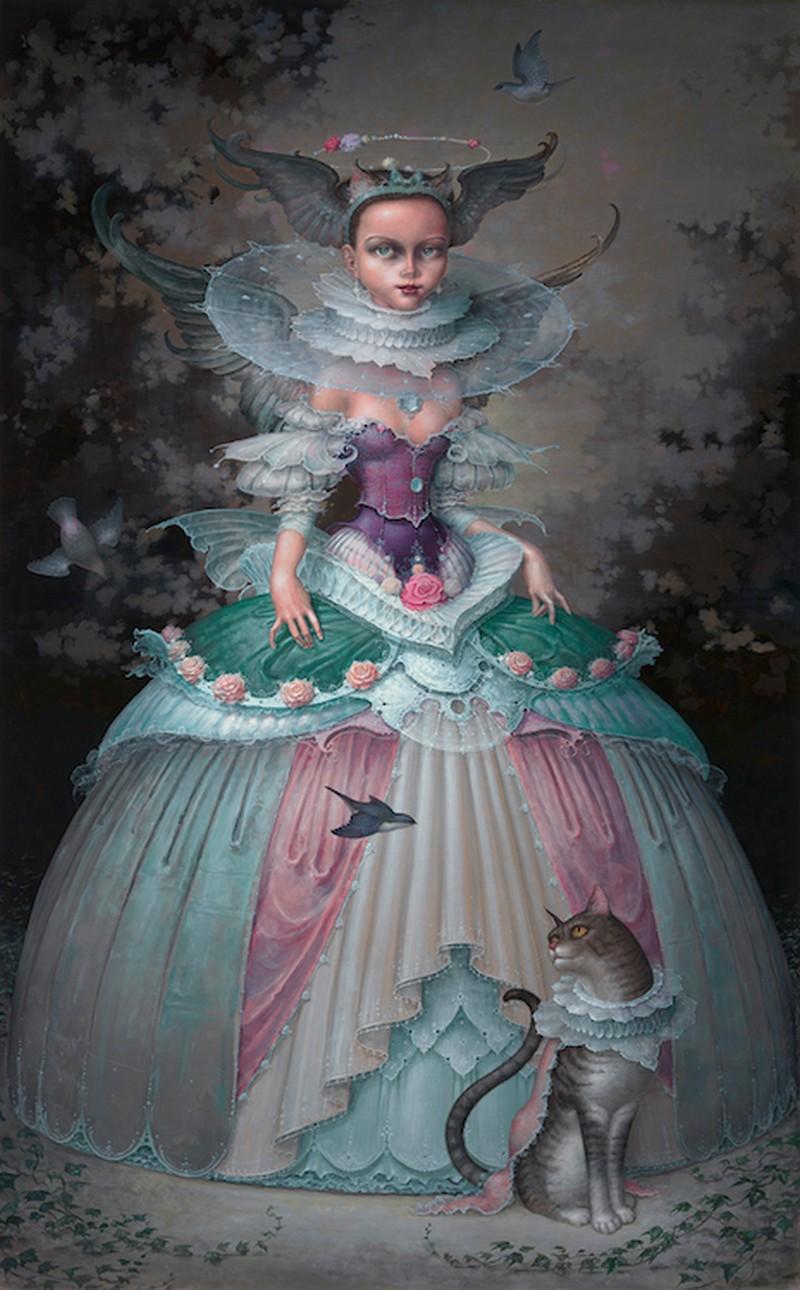 Daniel Merriam-Water-Color-Painting_Angelica