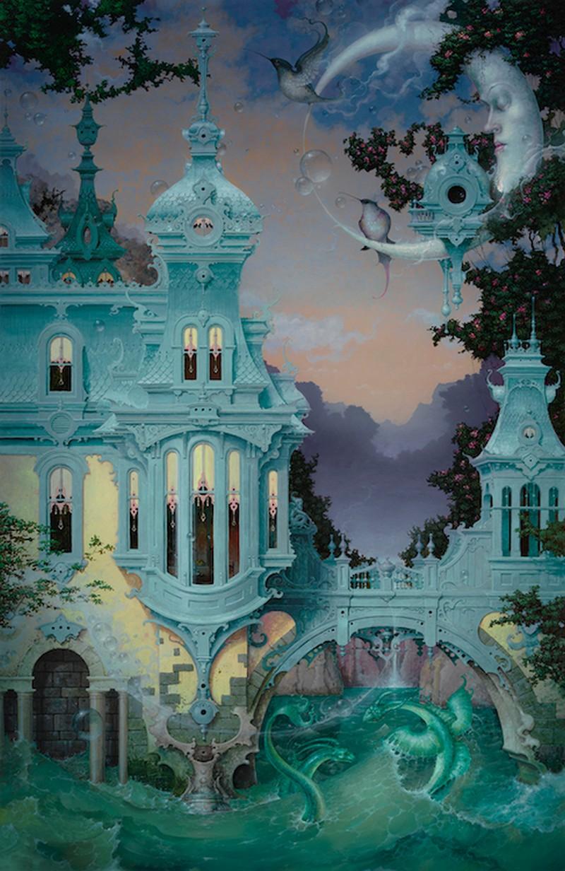 Daniel Merriam-Water-Color-Painting_High-Tide
