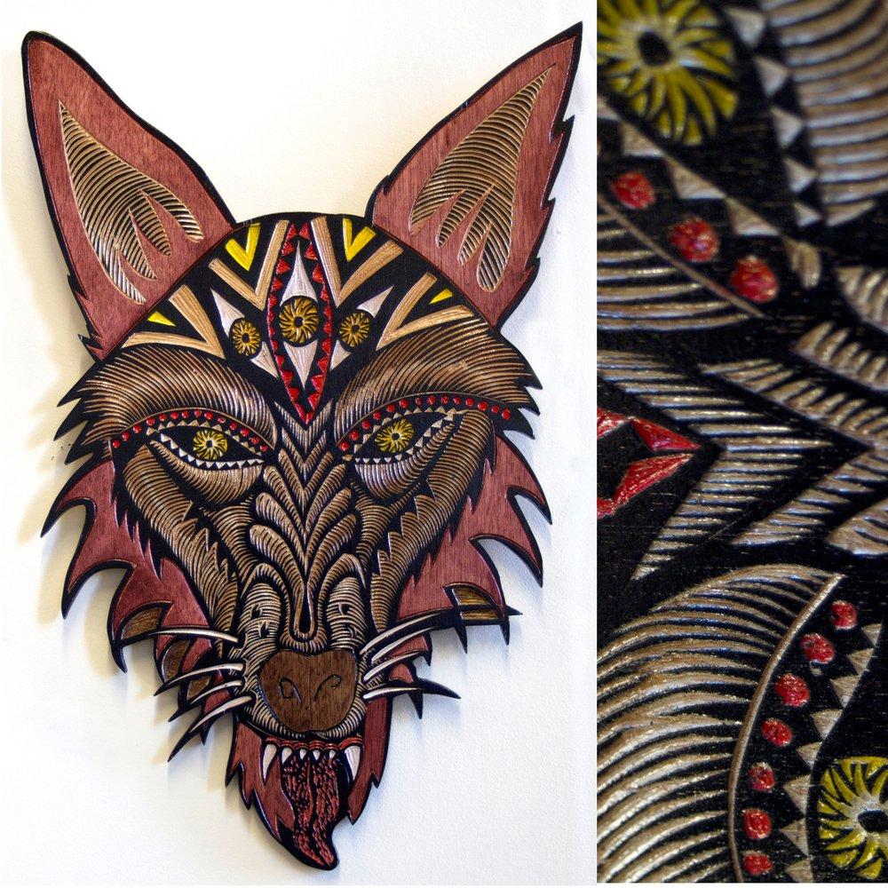 Dennis McNett - Wood Carvings 7110