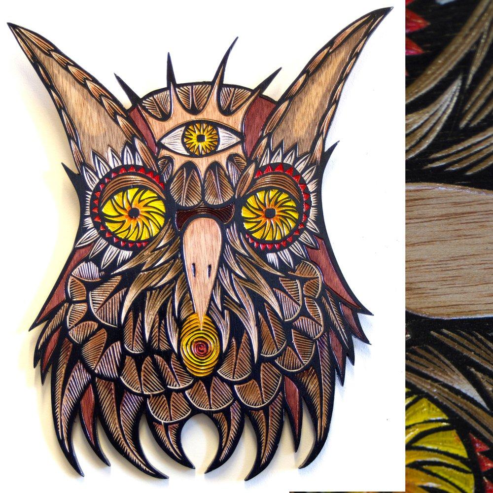 Dennis McNett - Wood Carvings 8479