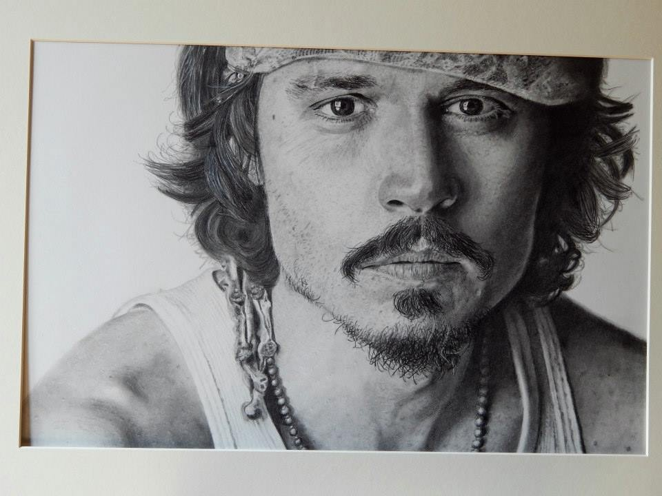 Keith More hyperrealistic drawings_JD Ice