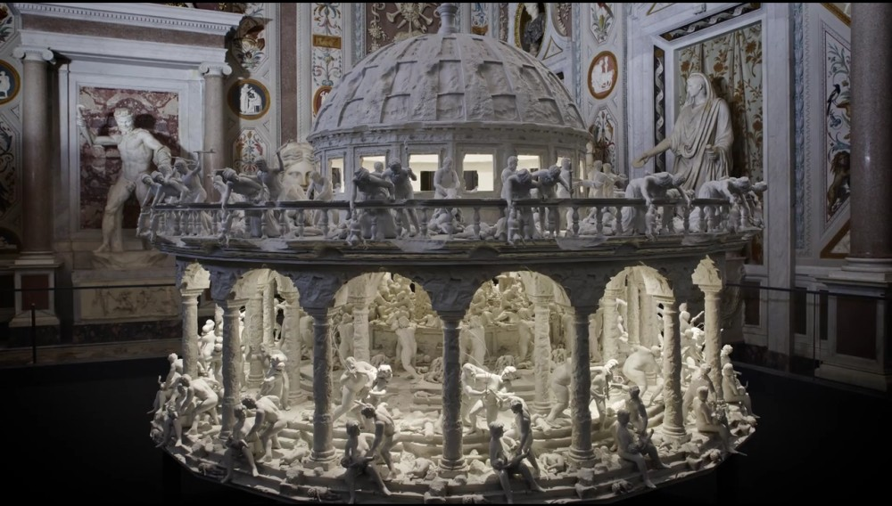 Mat Collishaw - 3D printed zoetrope 1256