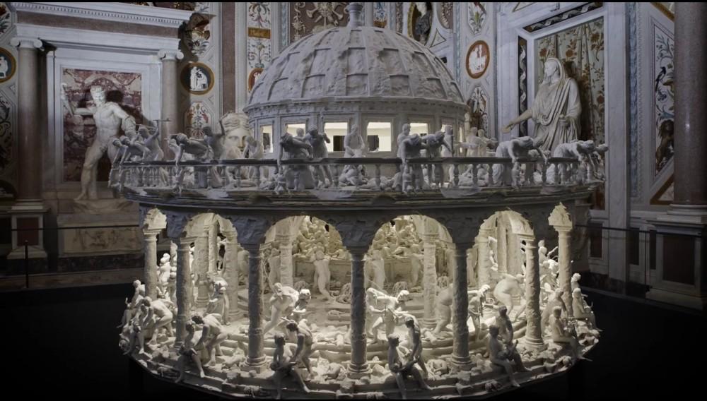 Mat Collishaw - 3D printed zoetrope 1256