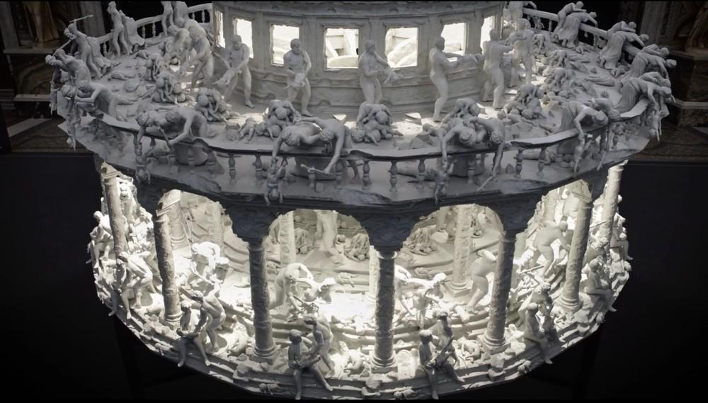 Mat Collishaw - 3D printed zoetrope 4852