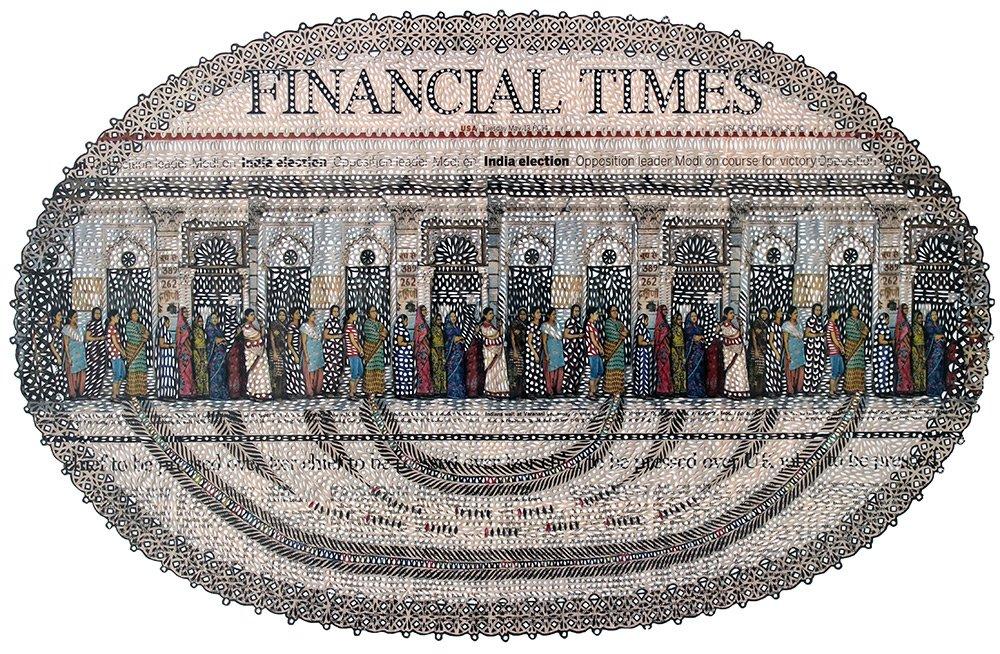 Myriam Dion - cut newspaper pattern 4586