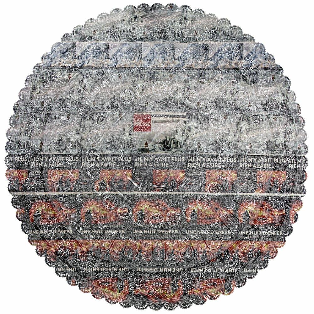 Myriam Dion - cut newspaper pattern 9188