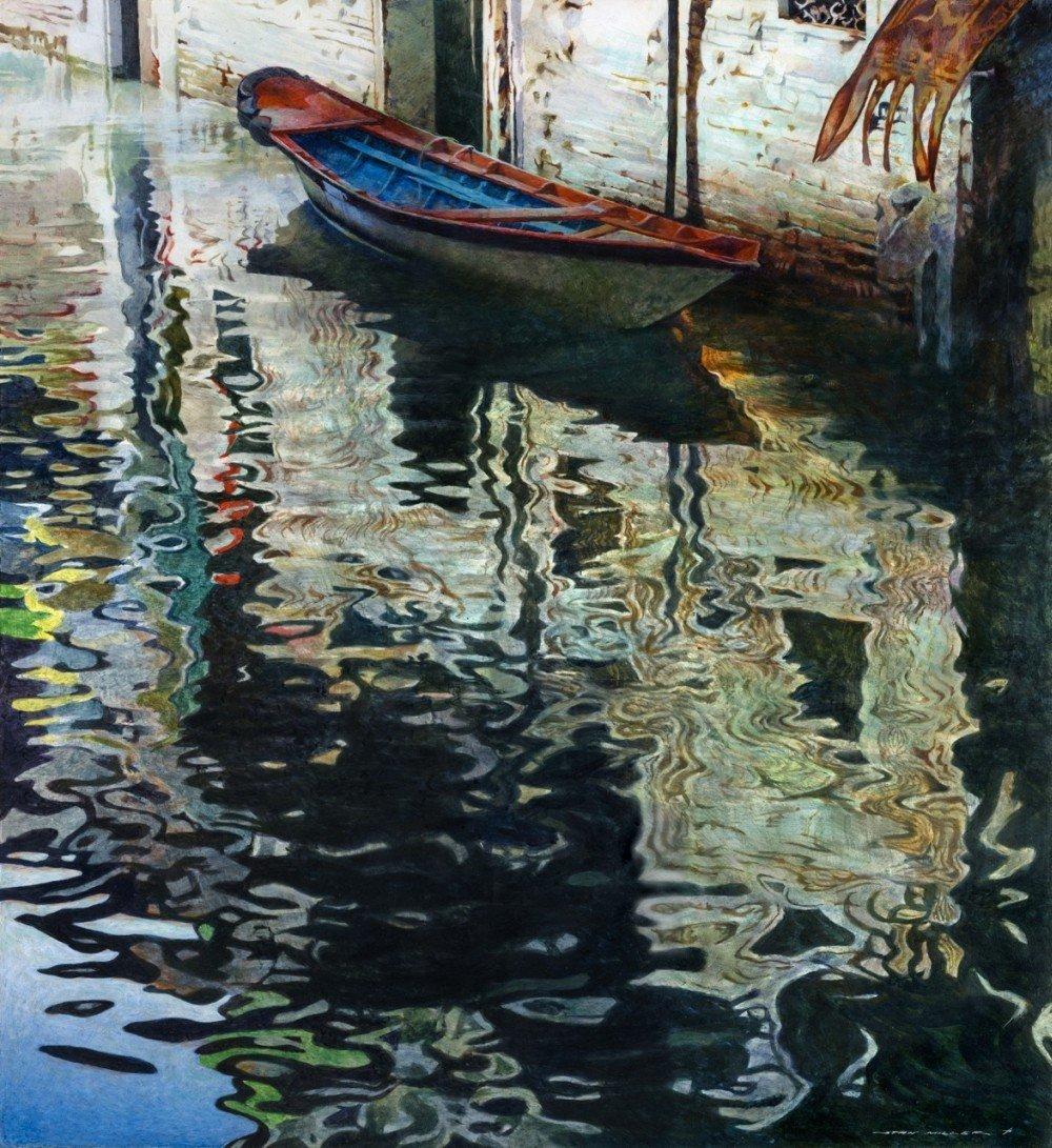 Stan Miller - Paintings Calm Water - 1948