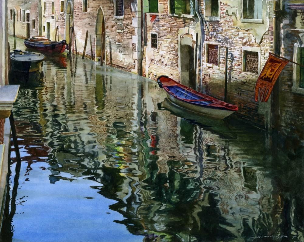 Stan Miller - Paintings Calm Water - 7919