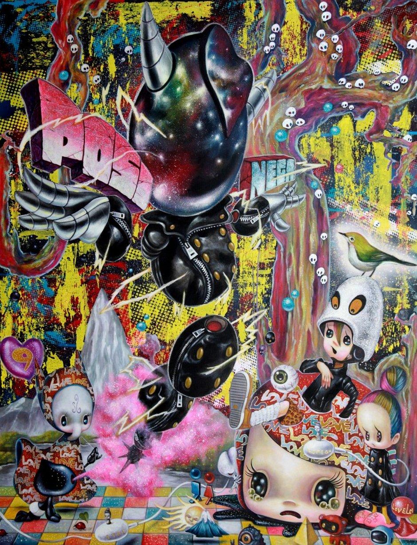 Yosuke Ueno Painting - Positive Energy -9