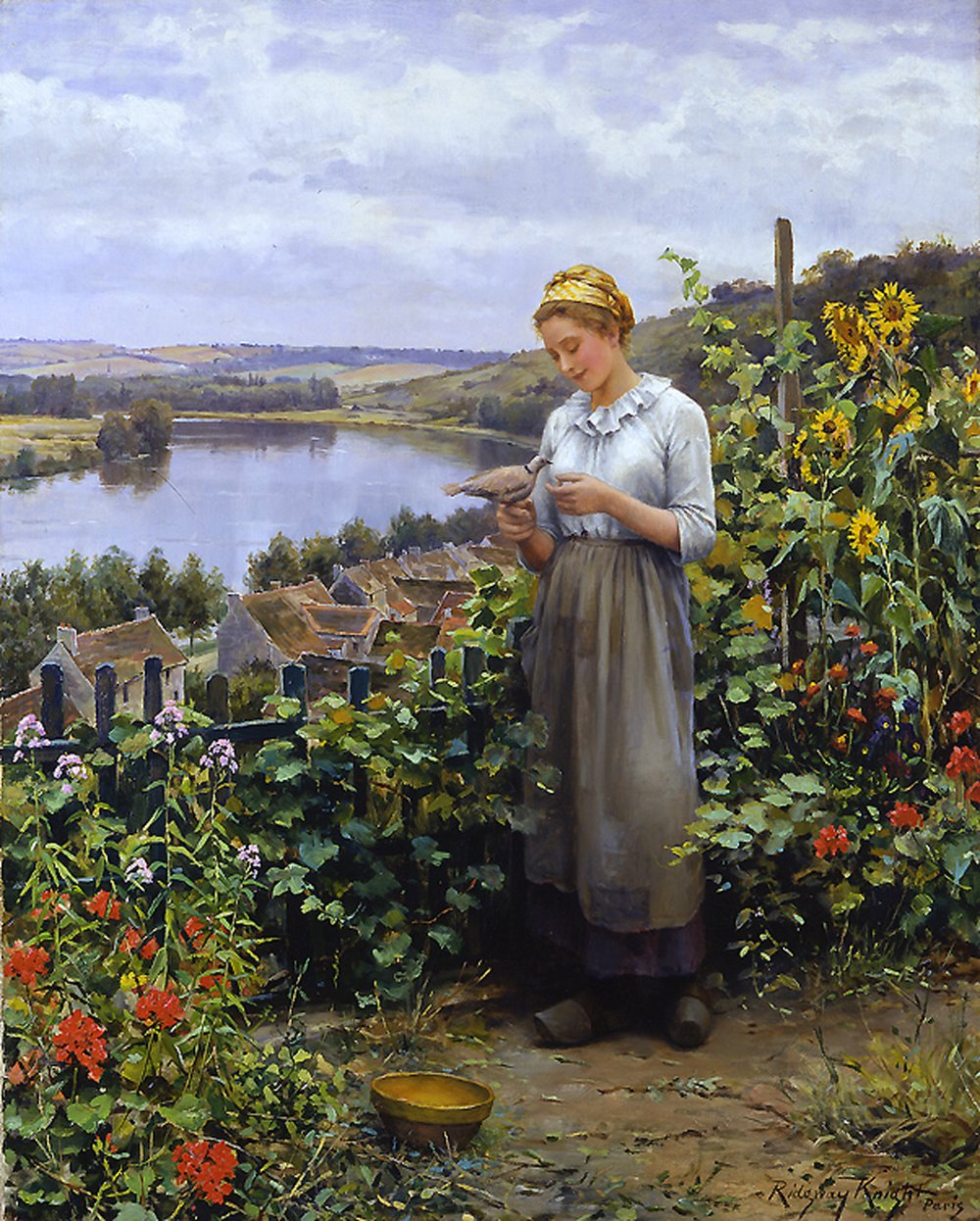 Daniel_Ridgway_Knight_Painting_the_pet_dove