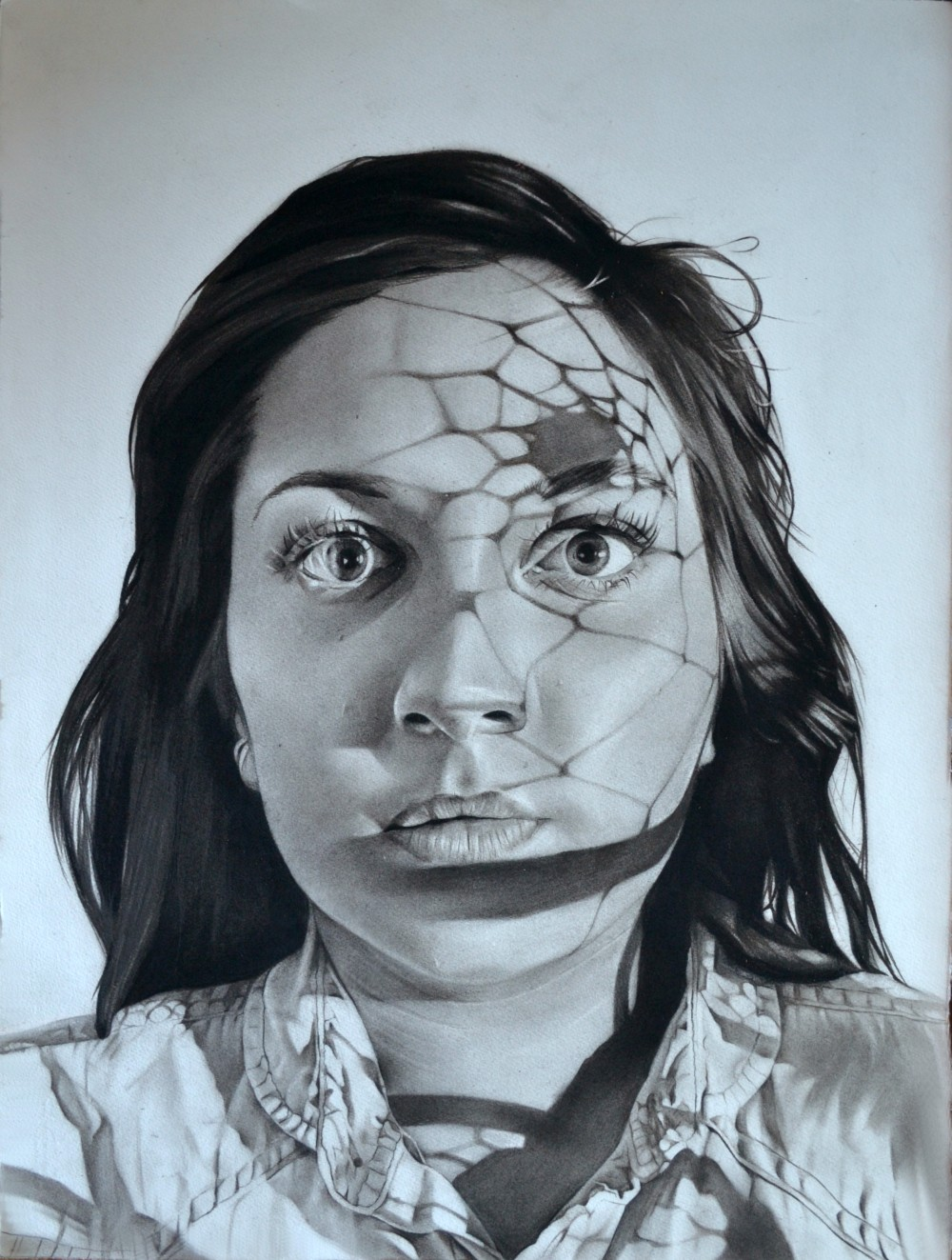 Dylan Andrews-charcoal-Drawings-portraits 126gh