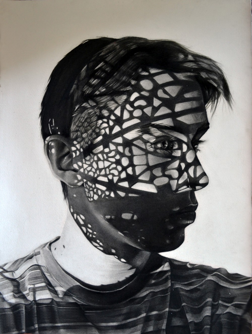 Dylan Andrews Charcoal Drawings Portraits 748khty