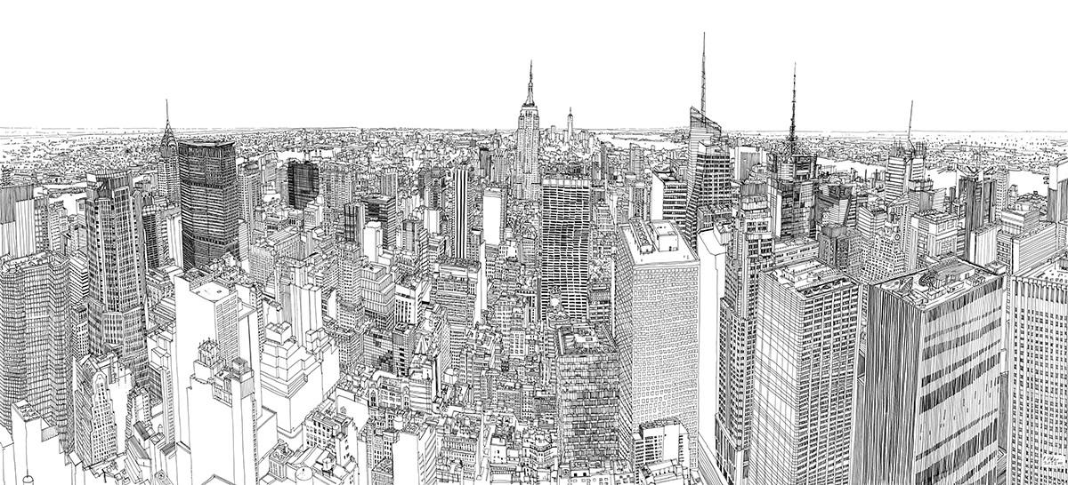 Patrick-Vale-Drawing-New-York-Skyline-123