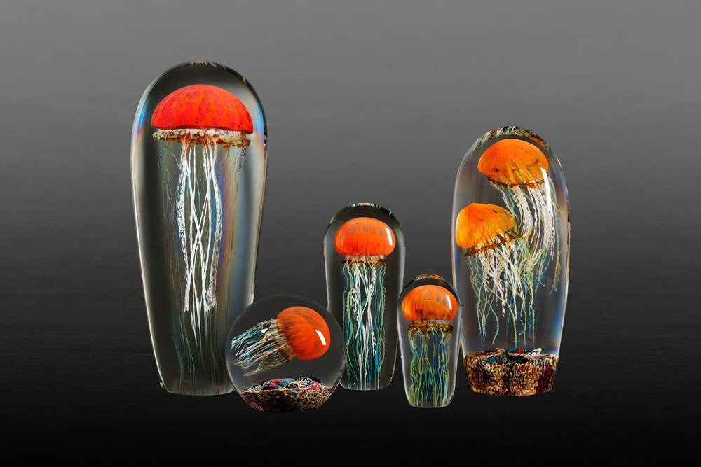 Rick Satava Glass Blown Jellyfish 154jug