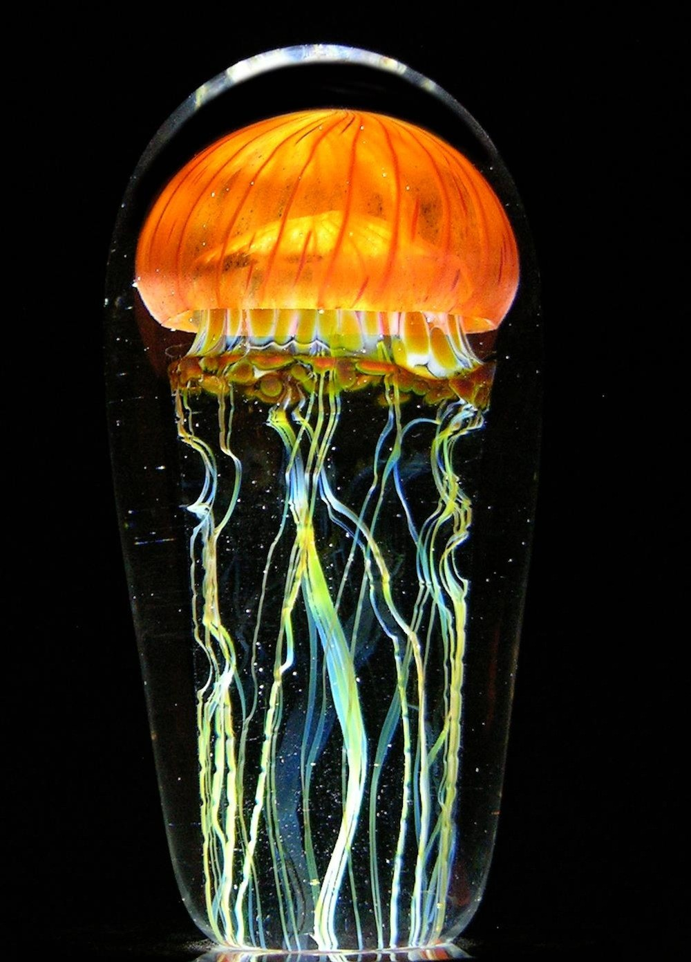 Rick Satava Glass Blown Jellyfish 425edr