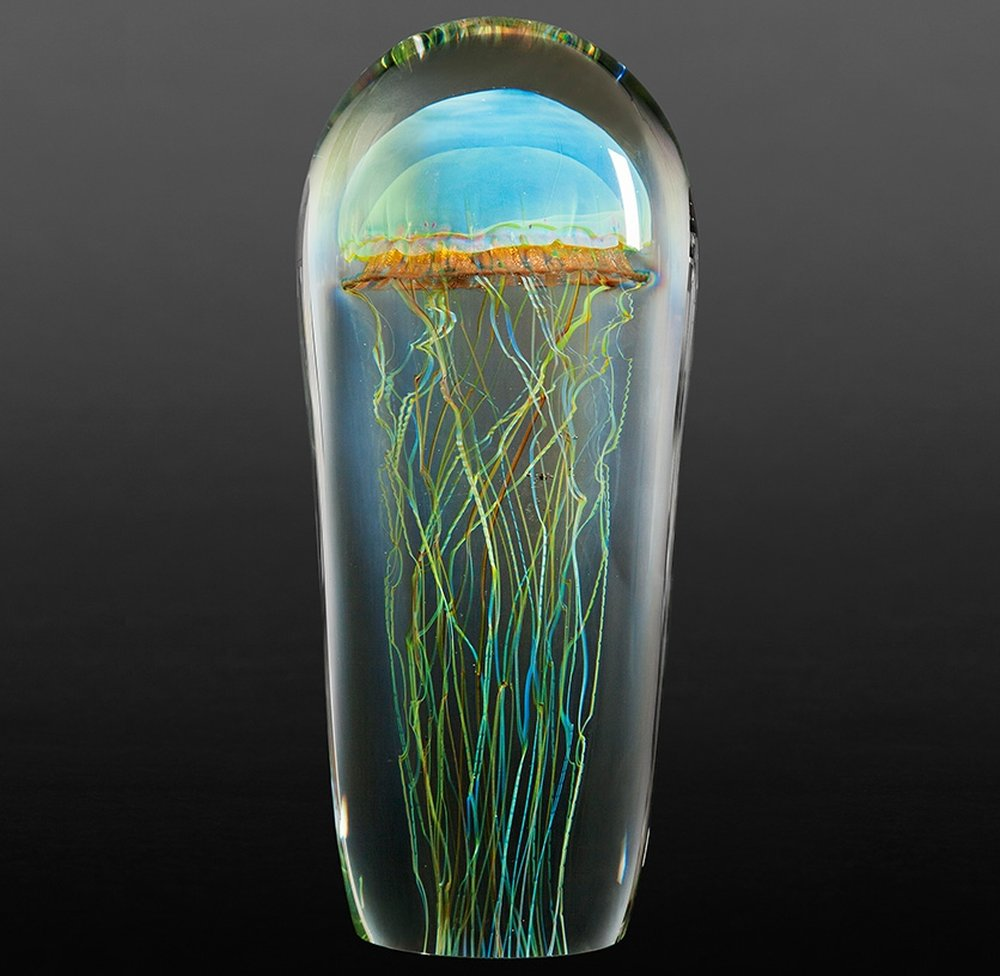 Rick Satava Glass Blown Jellyfish 814jik