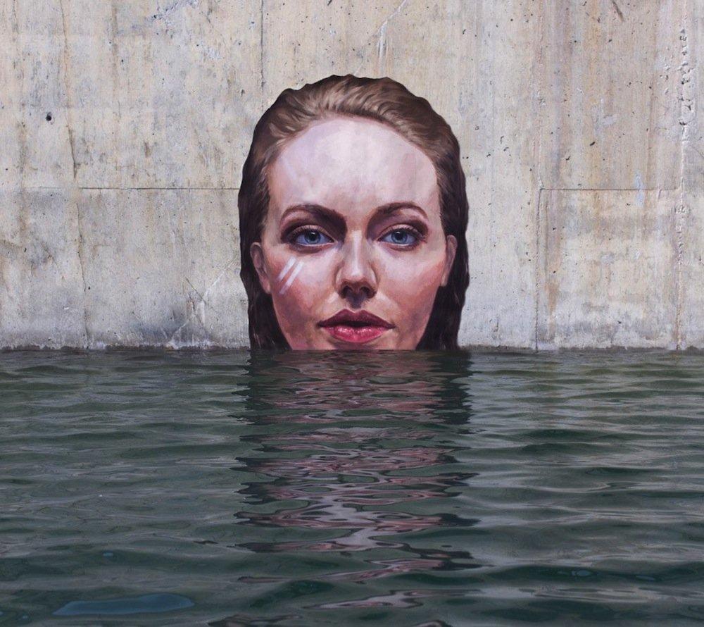 Sean Yoro Painting Seaside Murals 156tg