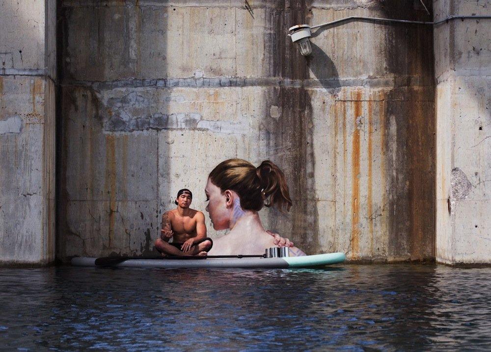 Sean Yoro Painting Seaside Murals 715wco-123