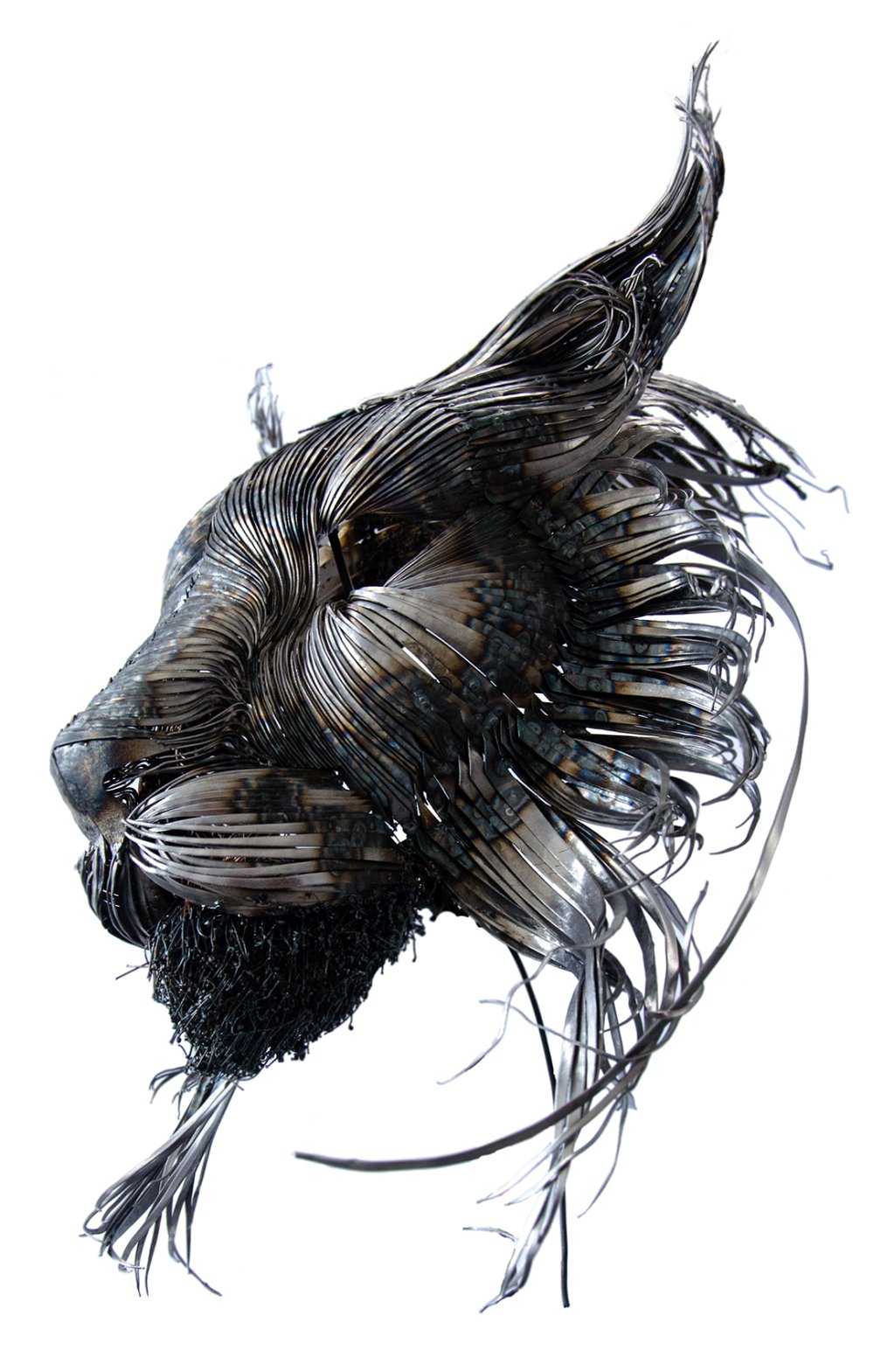 Selçuk Yılmaz_Animal Steel Sculpture_Lynx-16d4d