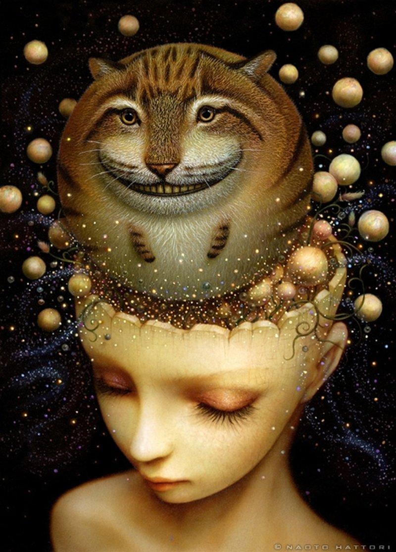 Naoto Hattori-Painting-mind-universe