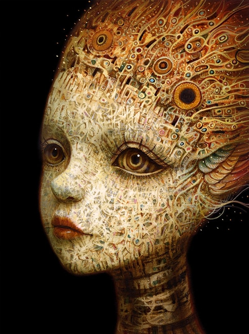 Naoto Hattori-Painting-stream_of_thought