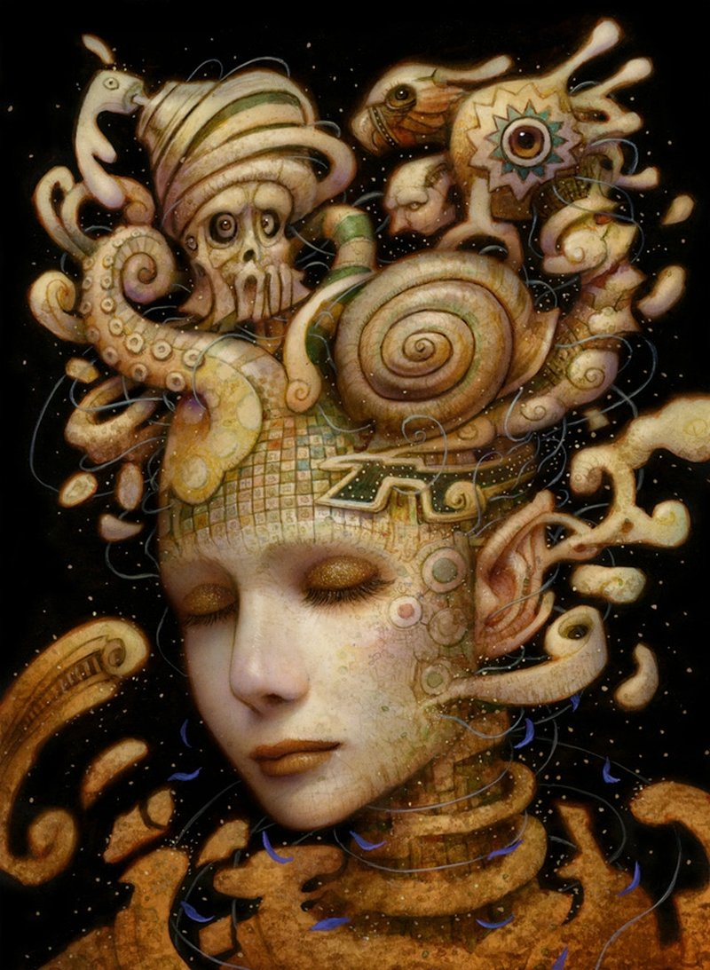 Naoto Hattori-Painting-twisted_mind
