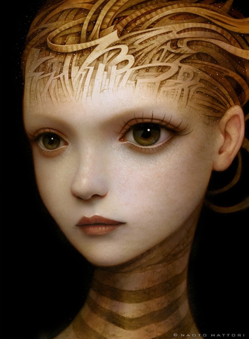 Naoto Hattori-Painting-untamed_thoughts