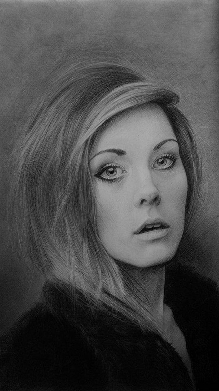Hyper-Realistic Graphite Drawings By Rebekka Lord-Johnson  — Beautifully Captured In Photo-realistic Renderings