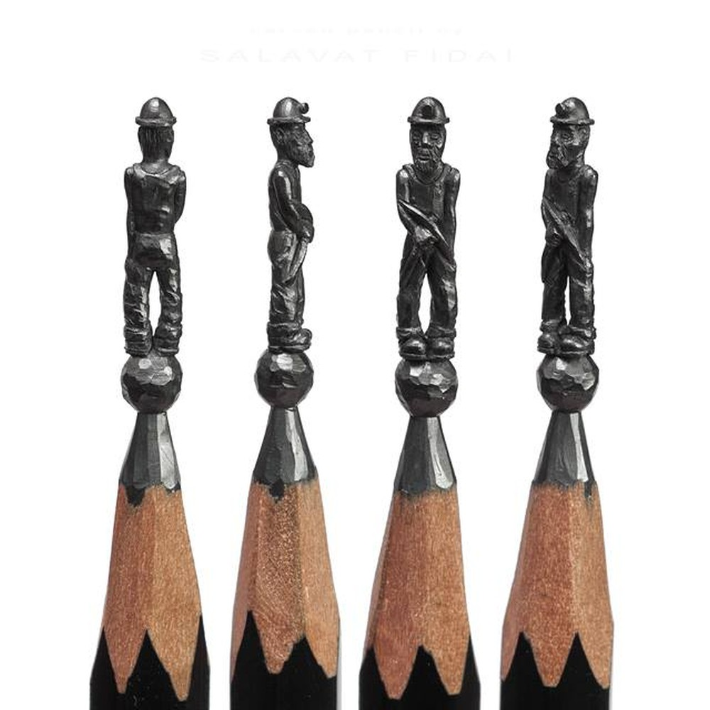 Salavat Fidai-pencil-sculpture-aed367