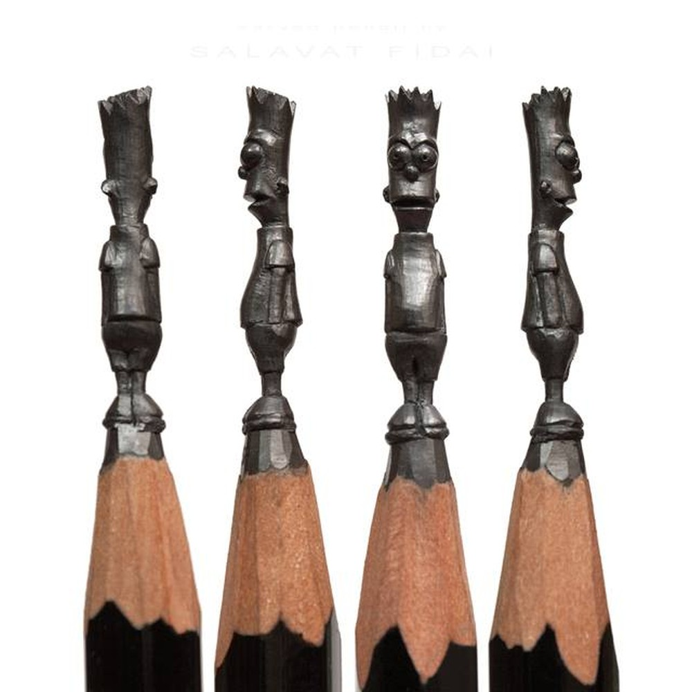 Salavat Fidai-pencil-sculpture-afr472