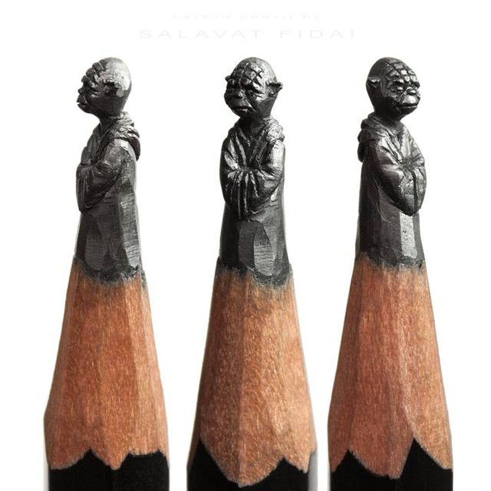 Salavat Fidai-pencil-sculpture-axd145