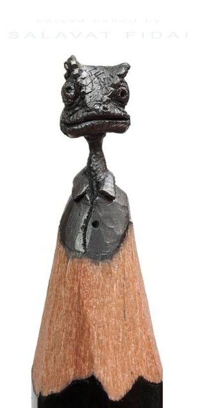 Salavat Fidai Pencil Sculpture Feature