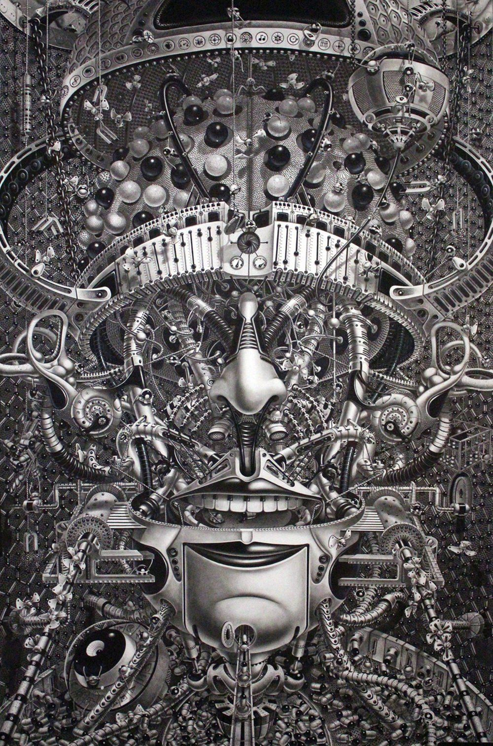 The Surreal Steampunk Drawings Of Samuel Gomez