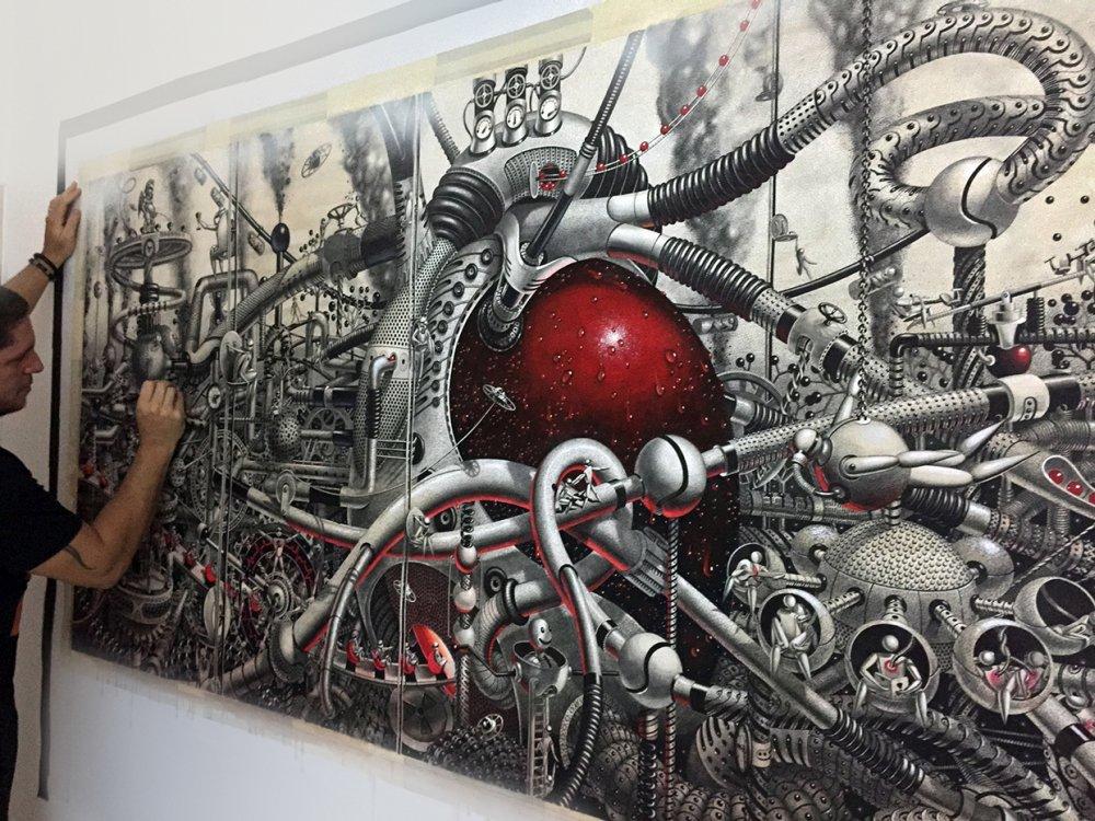 Samuel Gomez Graphite Drawings Oasis 123